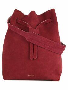 Mansur Gavriel Drawstring Hobo bag - Red