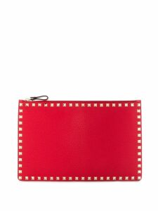 Valentino Valentino Garavani Rockstud clutch - Red