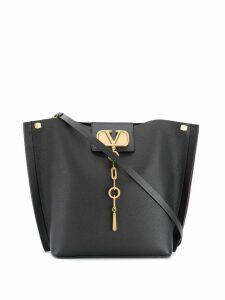 Valentino Valentino Garavani V chain tote bag - Black