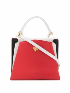 Giancarlo Petriglia Origami colour block tote - White