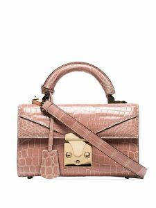 Stalvey mini top handle shoulder bag - Pink