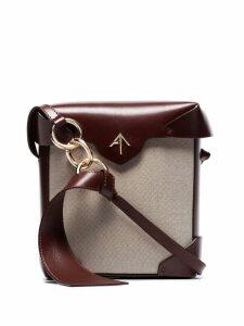 Manu Atelier mini Pristine Combo shoulder bag - Neutrals