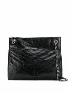 Saint Laurent Niki leather tote bag - Black