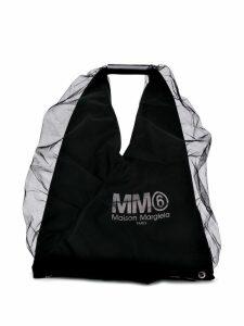 Mm6 Maison Margiela Japanese tulle tote bag - Black