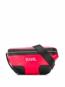 Karl Lagerfeld K/Athleisure bumbag - Red