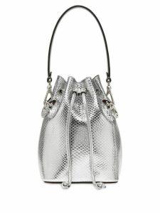 Fendi mini Mon Tresor bucket bag - Silver