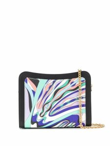 Emilio Pucci Burle Print Shoulder Bag - Black