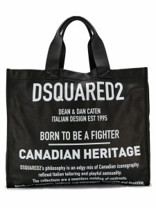 Dsquared2 large logo tote bag - Black