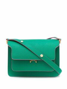Marni Trunk medium shoulder bag - Green