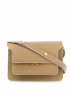 Marni Trunk medium shoulder bag - Neutrals