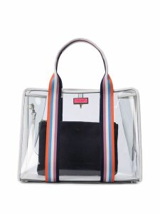 Kate Spade transparent tote bag - White