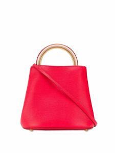 Marni textured tote bag