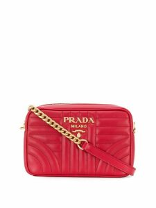 Prada Diagramme crossbody bag - Red