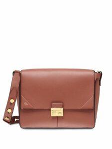 Fendi large Kan U shoulder bag - Red