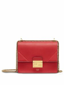 Fendi small Kan U shoulder bag - Red