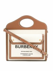 Burberry printed tote bag - Neutrals