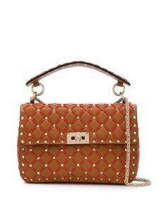 Valentino Valentino Garavani Rockstud Spike crossbody bag - Brown