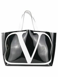 Valentino Valentino Garavani VLOGO beach tote - Black