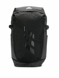 Adidas textured logo backpack - Black
