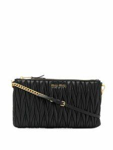 Miu Miu Matelasse crossbody bag - Black
