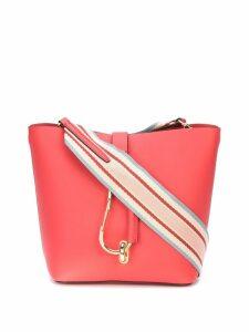 Zac Zac Posen Belay Hobo w/ Striped Web Strap bag - Red