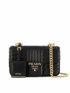 Prada Diagramme shoulder bag - Black