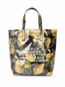Marc Jacobs fruit print tote bag - Multicolour