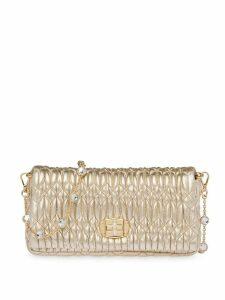 Miu Miu Cloquet clutch bag - Gold
