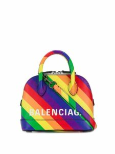 Balenciaga Ville top handle XXS tote - Purple