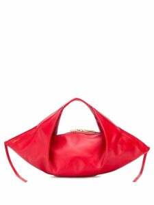 3.1 Phillip Lim Luna Mini Slouchy Hobo - Red