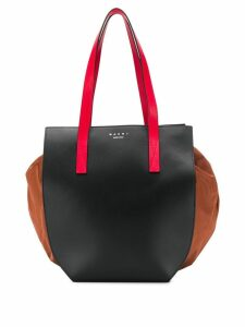 Marni drawstring tote bag - Black