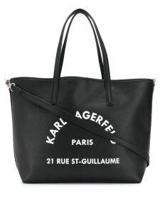 Karl Lagerfeld Rue St Guillaume tote - Black