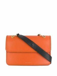 Marni accordion side satchel - Orange