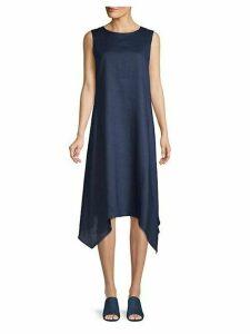 Romona Linen Handkercheif Shift Dress