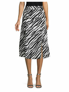 Bethany Printed Fit-and-Flare Dress
