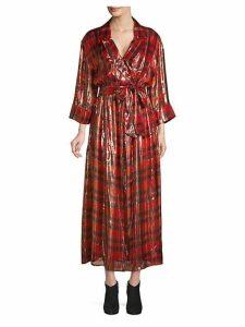 Chap Wrap Shirt Dress