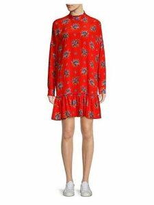 Kochhar Silk Drop Waist Dress