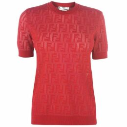 Fendi Ff Knitted T Shirt