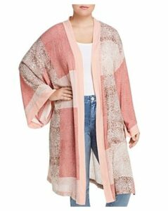 Seven7 Jeans Plus Printed Kimono