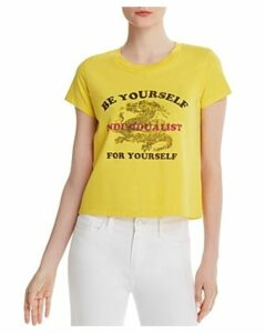 Pam & Gela Be Yourself Cropped Tee
