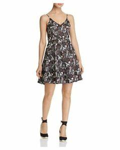 Scotch & Soda Tropical-Print Mini Dress