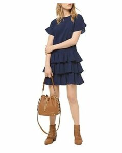 Michael Michael Kors Tiered Ruffled Mini Dress