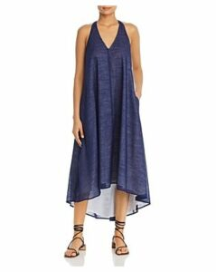 Kenneth Cole Sleeveless High/Low Maxi Dress