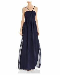Eliza J Shirred Goddess Gown