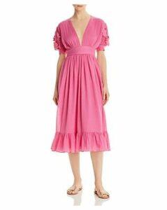 Carolina K Greta Midi Dress