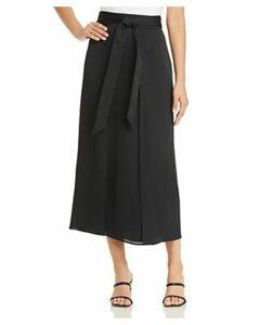 Lafayette 148 New York Sahara Tie-Waist Skirt
