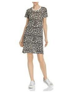 Atm Anthony Thomas Melillo Leopard-Print T-Shirt Dress