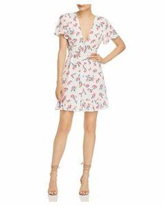 Rahi Electric Zia Floral-Print Mini Dress