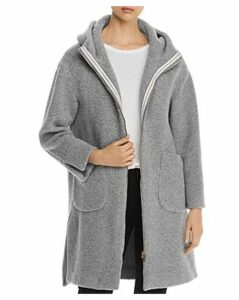 Herno Hooded Long Teddy Coat - 100% Exclusive