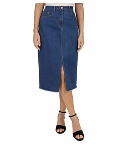 Gerard Darel Iden Denim Midi Skirt